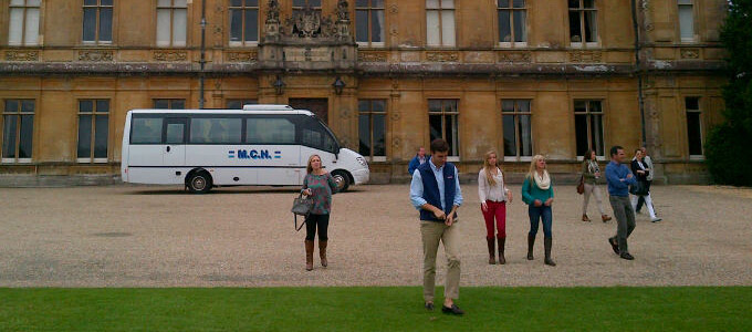 MCH Visits Downton Abbey