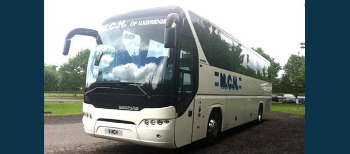 39 seater executive coach