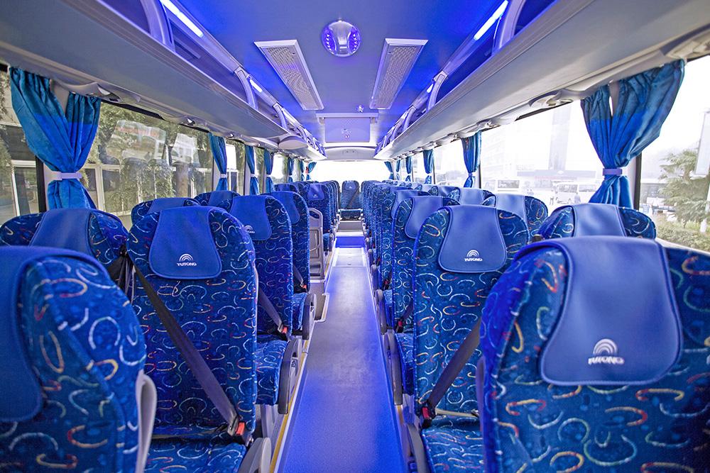 53 Seat coach interior